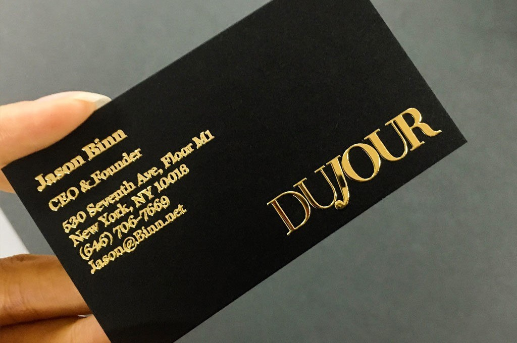 Introducing our Raised Foil & Raised UV Cards